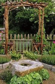 DIY Lovely Arbor and Garden Design