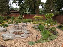 Desert Backyard Designs Inspiration How To Make A Pea Gravel Patio Beautiful Design Gravel Patios For