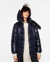 Image 2 of SHORT SHINY QUILTED JACKET from Zara | My Style ... & Image 4 of LONG QUILTED FEATHER DOWN COAT from Zara Adamdwight.com