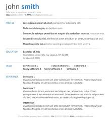Free Online Resume Free Online Templates For Resumes Fungramco 91