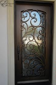 rod iron doors beautiful charming iron glass front doors wood with and wrought inside