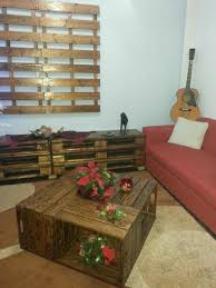 Coffee Tables Out Of Pallets Coffee Table Out Of Repurposed Crates O Pallet Ideas O 1001 Pallets