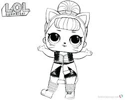 Lol Dolls Coloring Pages Unicorn Doll Page Can Do Baby Colouring