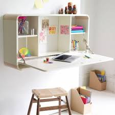 folding desk small office set up closet