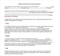 Office Lease Agreement Template – Bleachbath.info