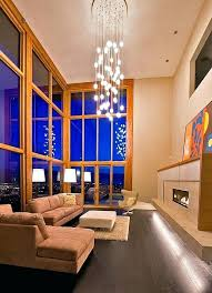 high ceiling light fixtures cloud large long drop feature contemporary modern cieling light fixture mid