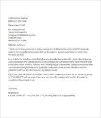 Thank You Letter For Job Interview Template Pinterest Job