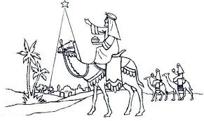 Small Picture Three Wise Men Ride Camel Advent Coloring Pages Batch Coloring