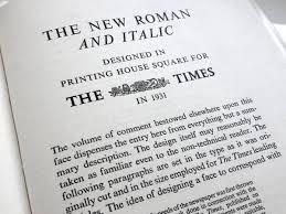 Times New Roman Alternatives Buttericks Practical Typography