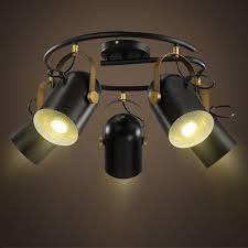 led retro ceiling light originality modern simple living room bar clothing restaurant coffee lamp
