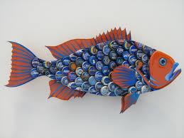 metal fish wall art florida m wall decal