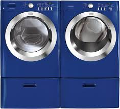 colored washer and dryer sets. Plain Dryer Frigidaire Affinity Series FAFW3577KN  Classic Blue With Optional Pedestal  SidebySide Matching Dryer  With Colored Washer And Sets