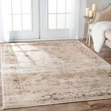area rugs 4x6 nuloom oriental vintage viscose ashton natural rug 96 x 1210 new outdoor rugs