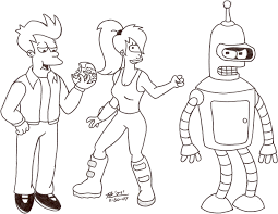 futurama coloring pages. Beautiful Pages Futurama Aww Itu0027s So Pretty Butwhat The Hell Is It Zoidyu0027s  Throughout Futurama Coloring Pages M