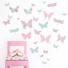 dining room wall stickers uk. children\u0027s butterfly fabric wall stickers - dining room uk