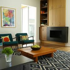 Modern Living Room Rugs Diamond Pattern Rug With Low Coffee Table Living Room Modern And