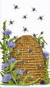 Pin by Billi Bennett on Bee-lieve | Bee art, Bee hive, Bee