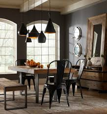 Statement light industrial-style-decor-ideas-for your-home Industrial style  decor ideas