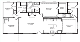 pretty open house plans ranch floor style home designs one story with mother in law suite