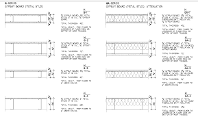 metal studs dimensions. 146223_wall_type_schedule.png metal studs dimensions m