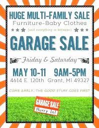 Garage Sale Flyers Free Templates 50 Fresh Garage Sale Flyer Template Free Speak2net Com