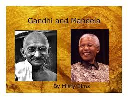 Gandhi & Mandela
