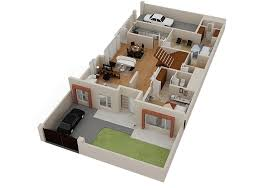 2d 3d house floorplans architectural home plans netgains design indian style 3d