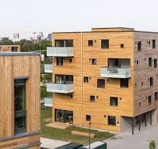 Urbaner Holzbau Holzbau Im Hochverdichteten Stadtraum