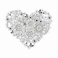 25 Vinden Hartjes En Bloemen Kleurplaat Mandala Kleurplaat Voor