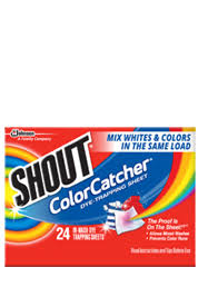 Shout Color Catcher Protect From Color Bleeding Shout