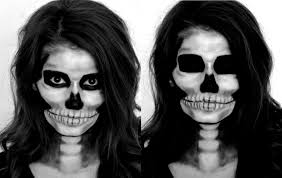 11 creepy skeleton makeup