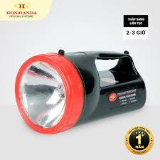 Đèn pin sạc tích điện xách tay Honjianda HJD-6688 - có chân đế sạc