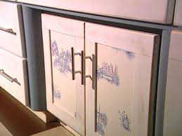 How To Cover Kitchen Cabinets An Inexpensive Way To Update Kitchen Cabinets Hgtv