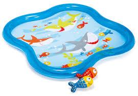 """<b>Детский бассейн</b> """"<b>Рыбки</b>"""" <b>Intex</b> 57126 140x140x11 купить в ..."""