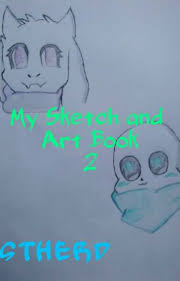 my sketch and art book 2