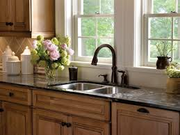 Venetian Bronze Kitchen Faucet Faucetcom 955 Rb Dst In Venetian Bronze By Delta