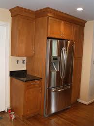 Above Fridge Cabinet Height Kitchen Refrigerator Double Door Pantries Depth  Best Above Fridge Cabinet Height