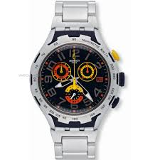 "men s swatch chronograph watch yys4006ag watch shop comâ""¢ mens swatch chronograph watch yys4006ag"