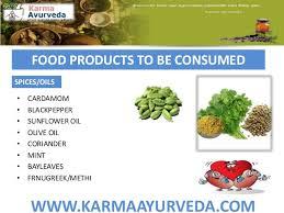Diet Chart Kidney Patients Karma Ayurveda