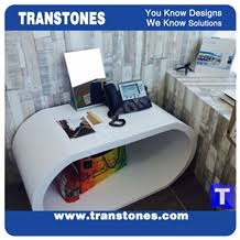 office counter tops. White Acrylic Aritificial Marble Stone Counter Tops,Office Reception Desk Table Design,Solid Surface Engineered Lobby Work Tops,Solid Office Tops