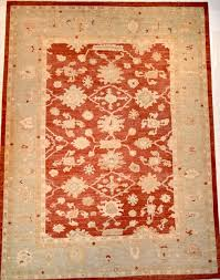 handmade oushak rug
