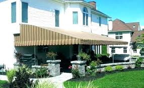 L Deck Awnings Awning Ideas Permanent For Best Of  Decks Pictures