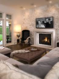 fireplace frame and neutral art above