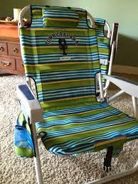 green blue stripe tommy bahama beach chairs at costco with pocket for outdoor furniture ideas