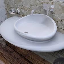 Lavabo resina bagno 60 cm ~ ispirazione design casa