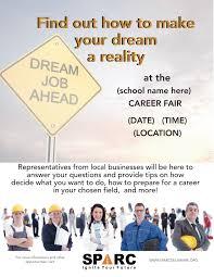 online resource center sparc delaware career fair flyer template