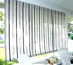 outdoor window curtains screen