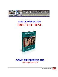 Sistem toefl reading corner by scholars official. Kunci Jawaban Free Toeflindonesia Ilmusosial Id