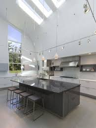 track lighting for high ceilings. interior attractive track lighting idea with picture of high ceiling design feat large kitchen island for ceilings o