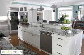 Cape Cod Kitchen The Yellow Cape Cod Dramatic Kitchen Makeover Revealbefore And After